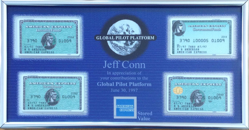 AMEX Contribution Recognition Plaque